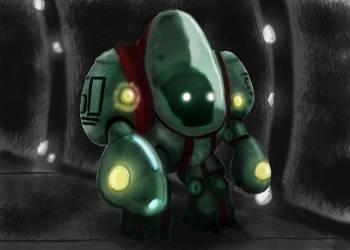 Alien Astronaut by raywindz64