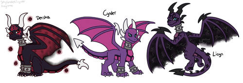 Collab with Skylanderscynder: Cynder Defusion by Regreme