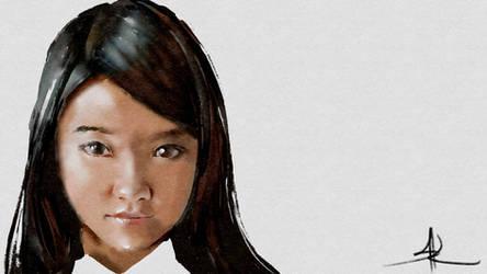 Good nignt Vietnamese pretty girl by showkunz