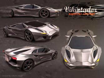 Vikintador supercar concept by koleos33