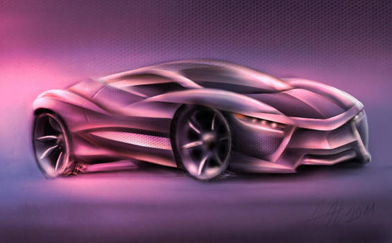 Gimp concept car by koleos33