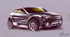 City Range Rover Evoque concept vehicle by koleos33