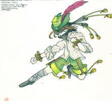 Super Morris Dancing Ninja by Psyfira