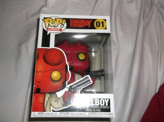 Hellboy Funko Pop by godofwarlover