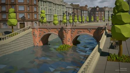 Stonebridge (LowPoly) by pat2494