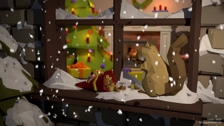 Christmas Treat (Low Poly) by pat2494