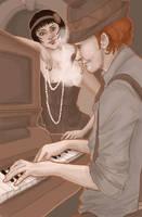 Kansas City Jazz by boscaresque