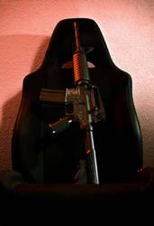 Gun Chair by Hanwei