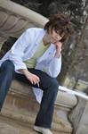 Shiki_Ozaki Toshio cosplay_ by grimmiko88