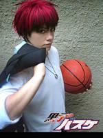 Kuroko no Basket-Kagami by grimmiko88