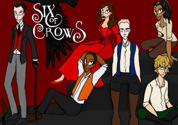 Six of Crows by Whitefire17