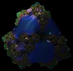 Mandelbulb3D Twisted Prism Blue Smooth by 1Bryan1