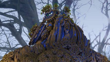 Mandelbulb3D Forest Fungi by 1Bryan1
