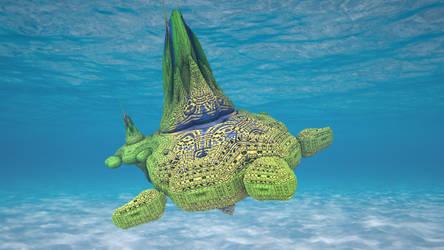 Mandelbulb3D See Turtle by 1Bryan1