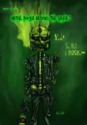 Rock is dead.... by rh-x
