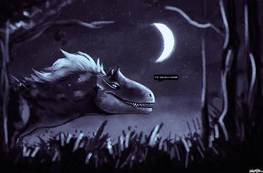 moonlit by InkiMonster