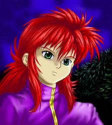 Kurama colored by Soreiya