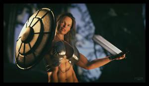 Warrior Princess by RobF4
