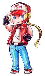 KoF - Chibi Terry by Meinarch