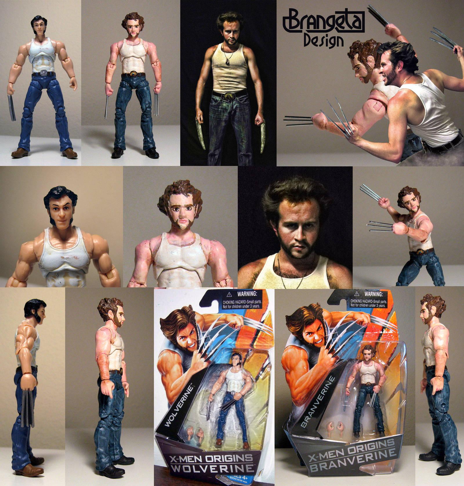 Wolverine X-men Origins Custom Figure Halloween by Brangeta