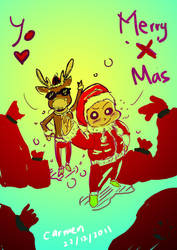 Merry X mas by carmentan124