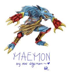 My digimon by carmentan124