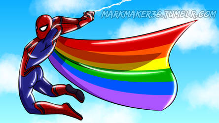 SpiderGay by MarkMaker36