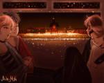 Ghibli X BTS by aikimei