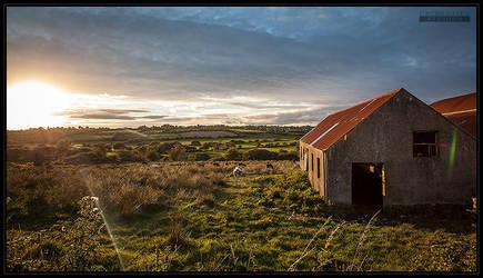 Irland Sunset by UnidentifyStudios