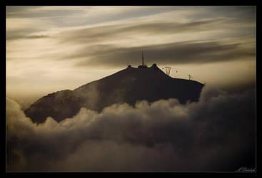 Alpine Sunset by UnidentifyStudios