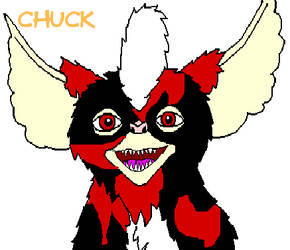 Chuck-Mogwai by Axe2345567