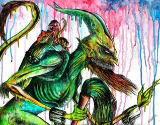 Kraumpusnacht by uncouthbarbarian