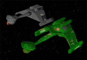 The Klassic Klingon Kuve (F-5) Klass Frigate by DigitalExplorations