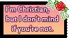 I Don't Mind Stamp by SilentRisingSun