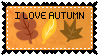 Autumn Stamp by SilentRosySunrise