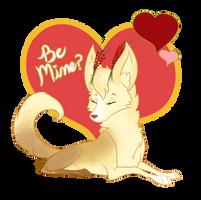 Mim's Valentine by SilentRosySunrise
