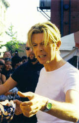 David Bowie In NY by lunar-basket