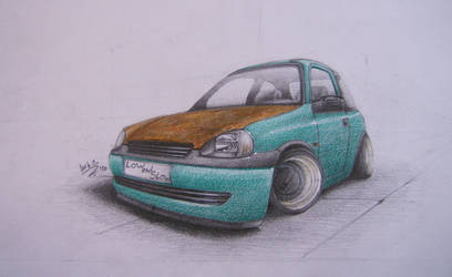 Opel Corsa B by mncristy