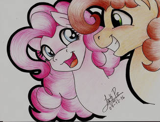 pinkie Pie and Cheese Sandwich by Jack-Pie