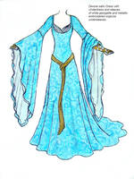 State Portrait Dress by EllaNyx