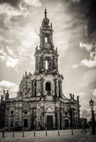 Katolische Hofkirche by Sudlice