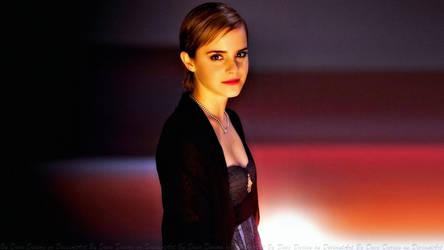 Emma Watson Night Wallflower II by Dave-Daring