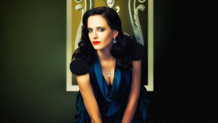 Eva Green In Shadow by Dave-Daring