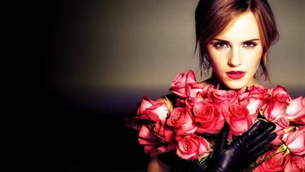 Emma Watson Rose By Night by Dave-Daring