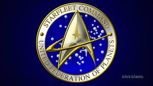 Star Trek Star Fleet Command Seal by Dave-Daring