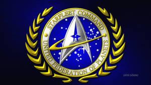 Star Trek Star Fleet Command Great Seal v2 by Dave-Daring