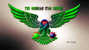 Star trek Romulan Eagle by Dave-Daring