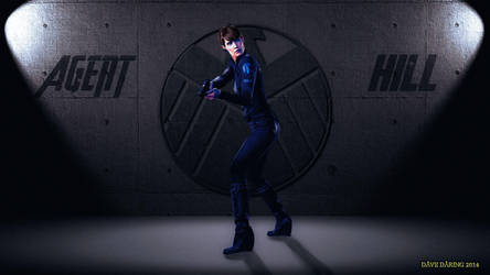 Cobie Smulders Agent Maria Hill III ver2 by Dave-Daring