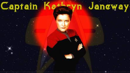 Kate Mulgrew Janeway IV by Dave-Daring