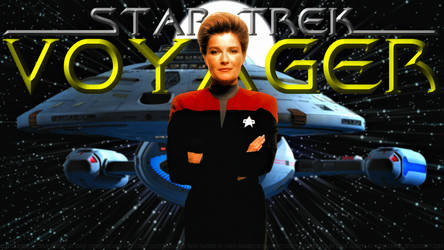 Kate Mulgrew Janeway V by Dave-Daring